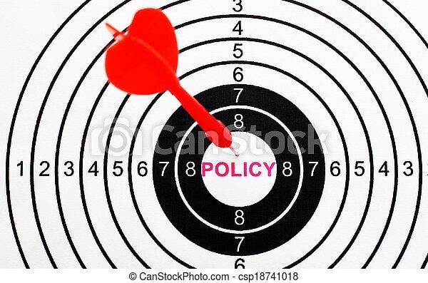 политика, мишень - csp18741018