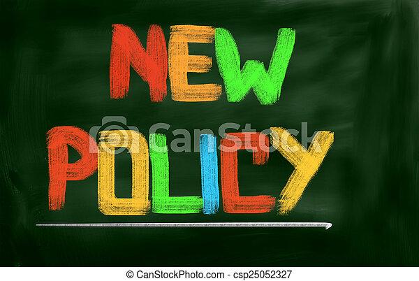 политика, новый, концепция - csp25052327