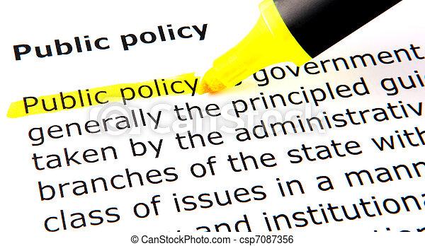 политика, общественности - csp7087356