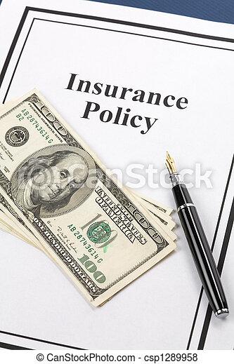 политика, страхование - csp1289958
