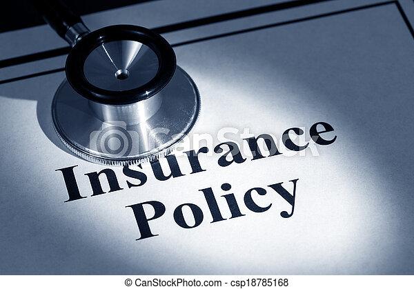 политика, страхование - csp18785168