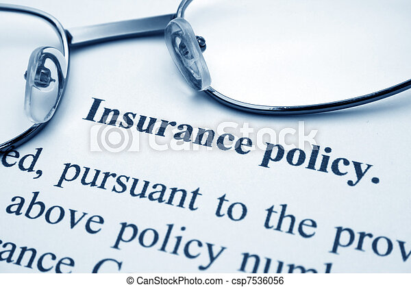 политика, страхование - csp7536056
