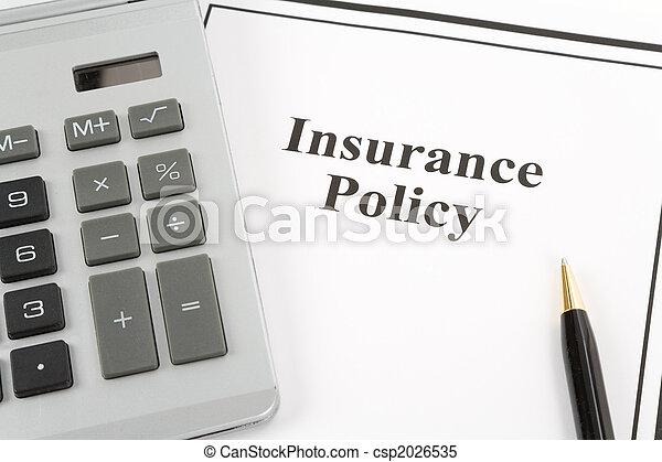 политика, страхование - csp2026535