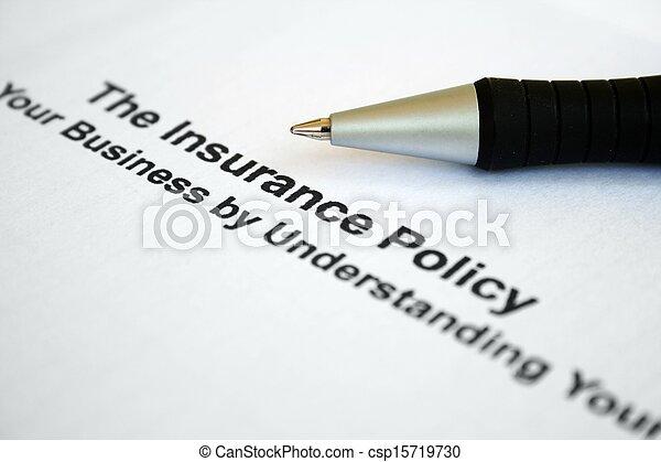 политика, страхование - csp15719730
