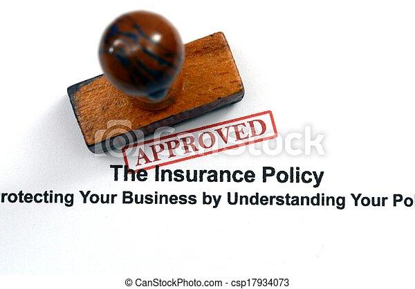 политика, -, страхование, утвержденный - csp17934073