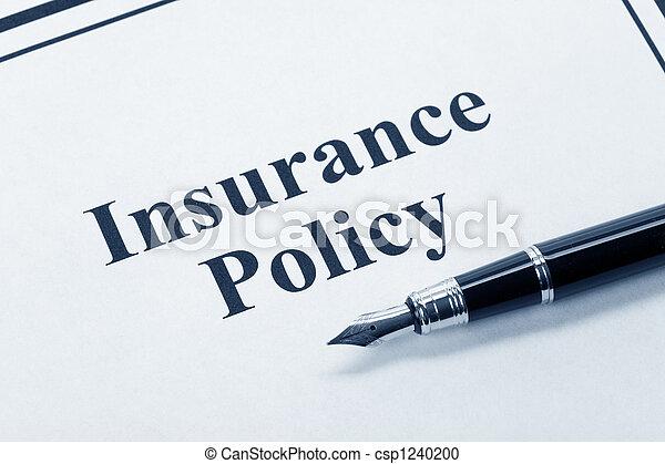 политика, страхование - csp1240200