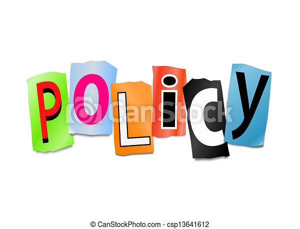 политика, concept. - csp13641612