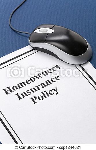 политика, homeowners, страхование - csp1244021