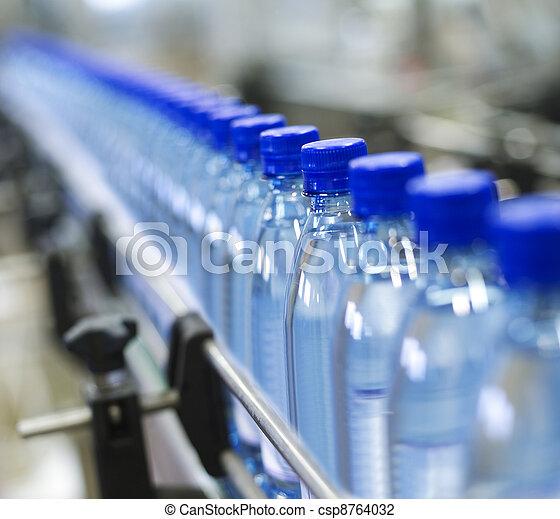 промышленность, бутылка - csp8764032