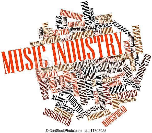 промышленность, музыка - csp11708928