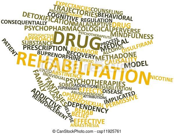 реабилитация, лекарственный - csp11925761