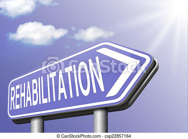 реабилитация - csp22857164
