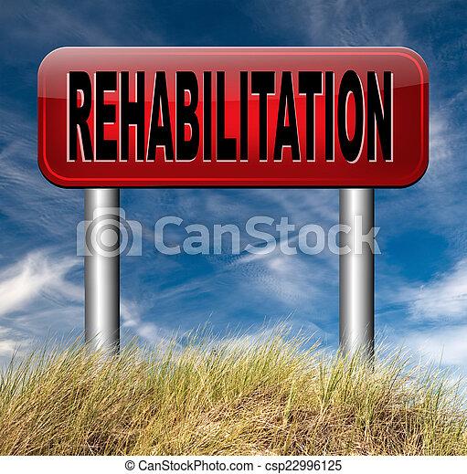 реабилитация - csp22996125