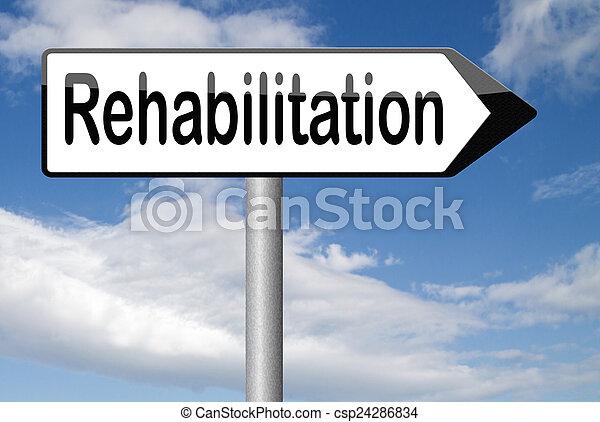 реабилитация - csp24286834