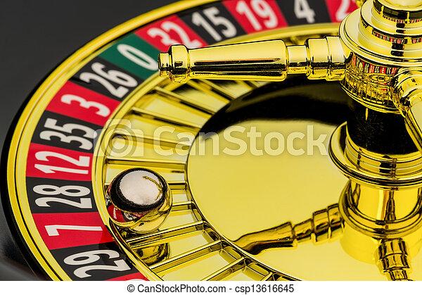 рулетка, игорный, казино - csp13616645