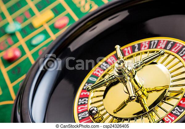 рулетка, игорный, казино - csp24326405