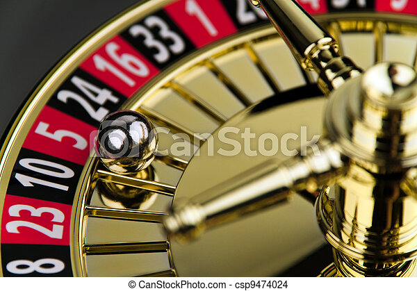рулетка, цилиндр, игра, шанс - csp9474024