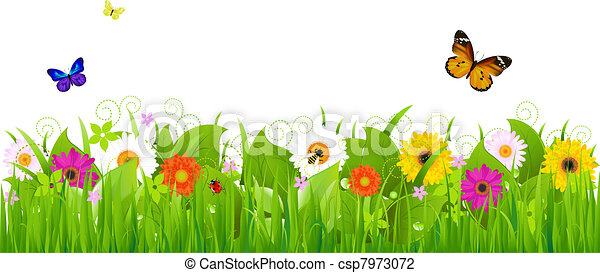 свежий, пейзаж, природа - csp7973072