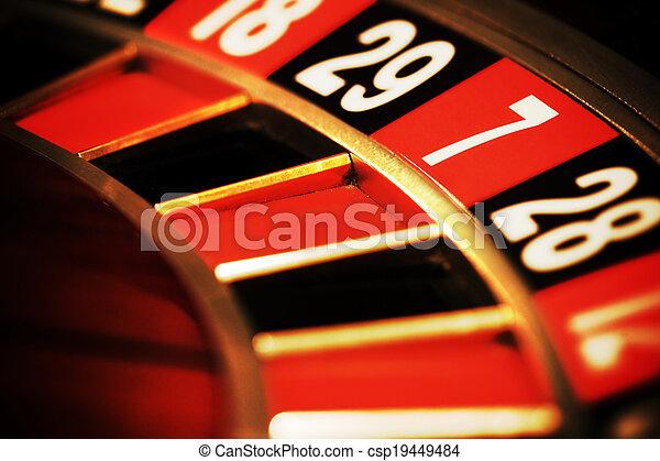 семь, казино, рулетка - csp19449484