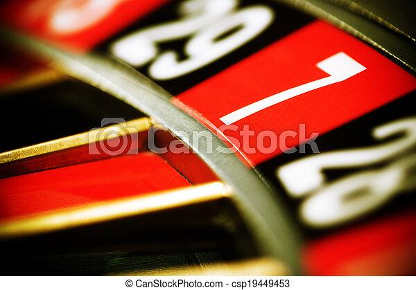 семь, казино, рулетка - csp19449453