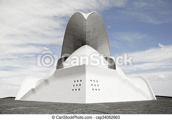 современное, архитектура - csp34062663
