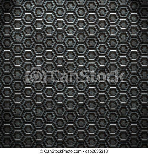 стали, бриллиант, бесшовный, задний план - csp2635313