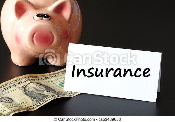 страхование - csp3439658