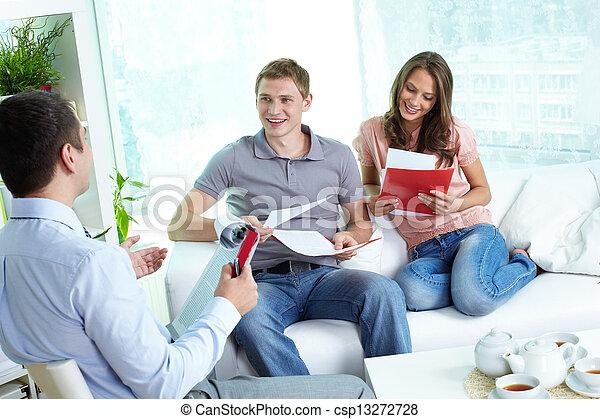 страхование, контракт - csp13272728