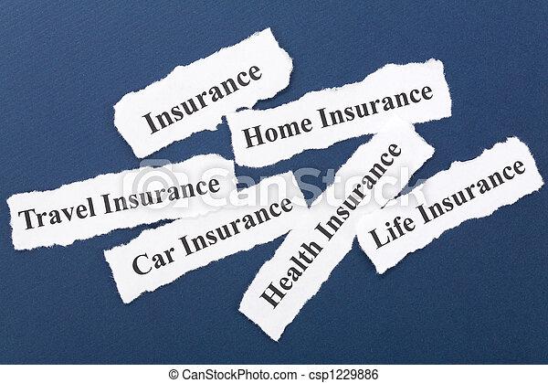 страхование - csp1229886
