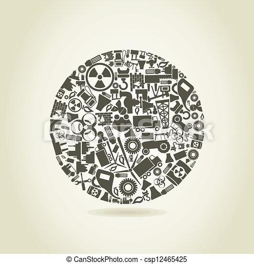 сфера, промышленность - csp12465425