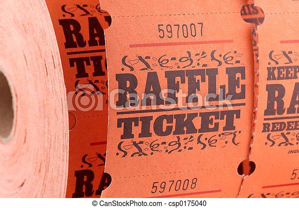 участвовать в лотерее, билет - csp0175040