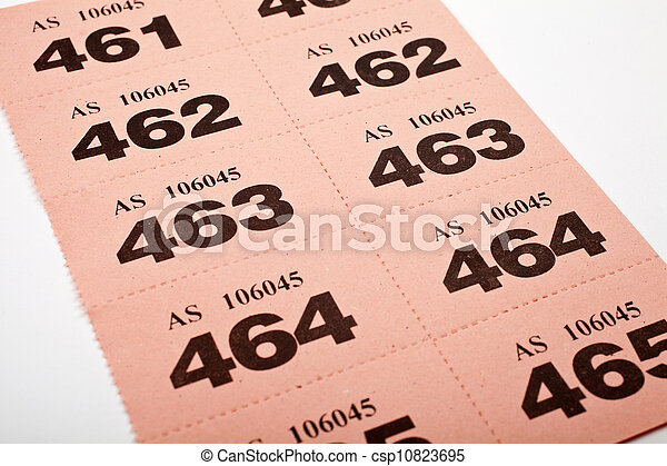 участвовать в лотерее, tickets - csp10823695