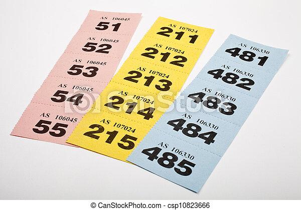 участвовать в лотерее, tickets - csp10823666