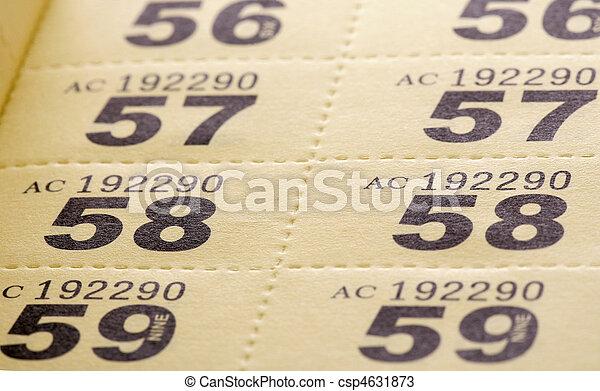 участвовать в лотерее, tickets - csp4631873