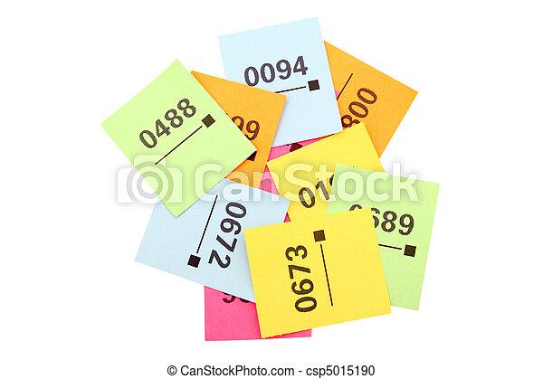 участвовать в лотерее, tickets - csp5015190