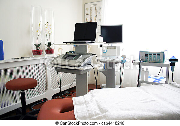 физиотерапия, клиника - csp4418240