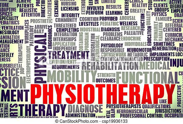 физиотерапия - csp19936133