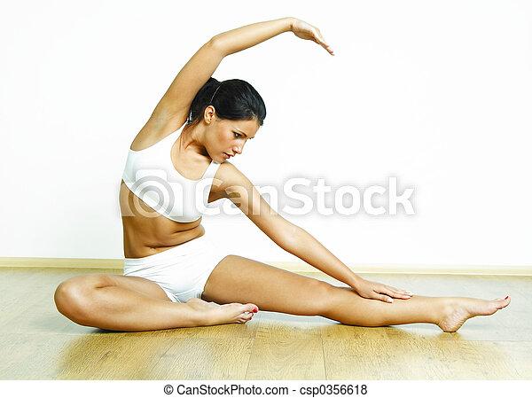 фитнес, время - csp0356618