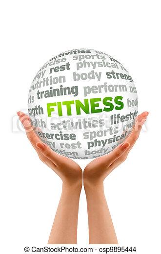 фитнес - csp9895444