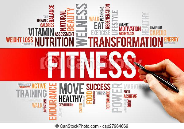 фитнес - csp27964669