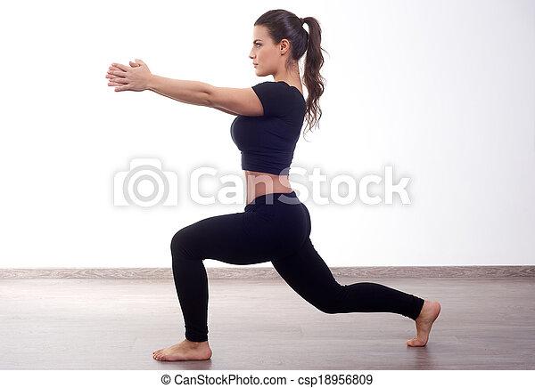 фитнес - csp18956809