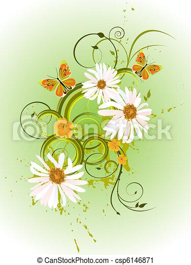 цветочный, дизайн - csp6146871