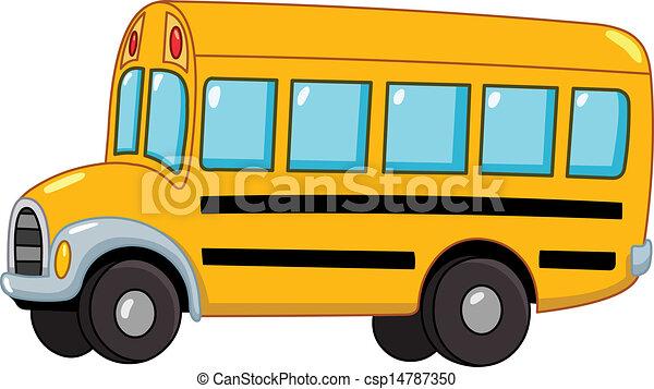 אוטובוס, בית ספר - csp14787350