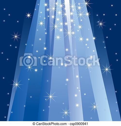 אור, קסם, (illustration) - csp0900941