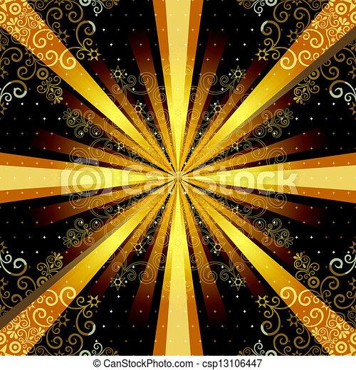 בציר, קרנות, seamless, תבנית - csp13106447