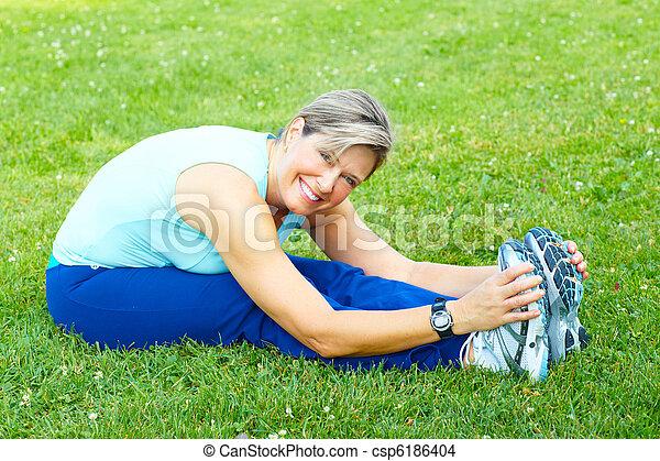 בריא, lifestyle., כושר גופני - csp6186404