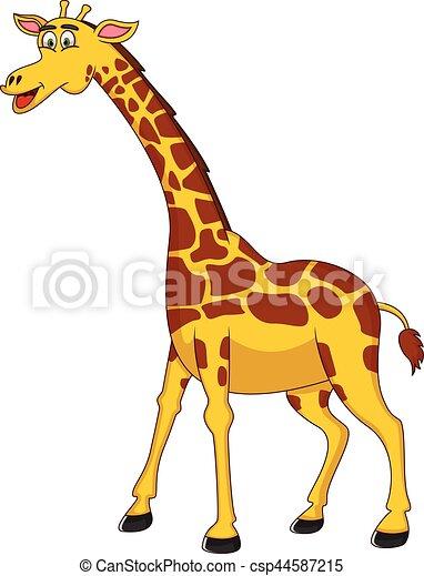 39 39 - Dessin de girafe en couleur ...