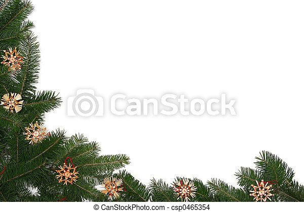 הסגר, עץ, חג המולד - csp0465354