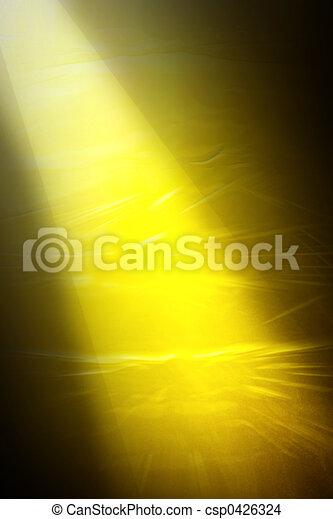 זהוב, אור - csp0426324