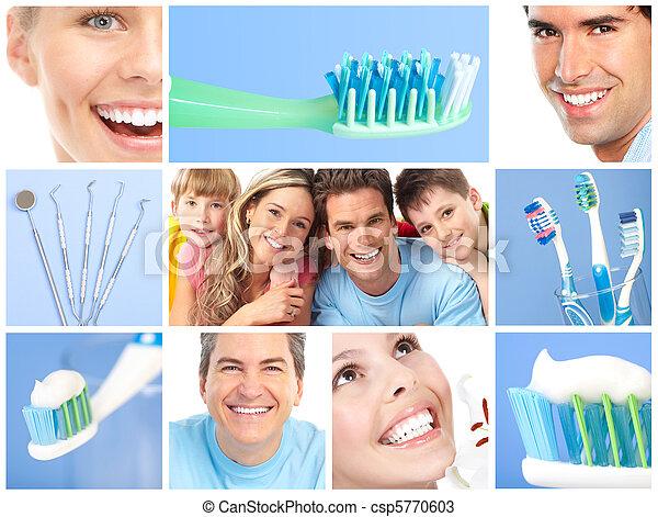 זהירות של השיניים - csp5770603